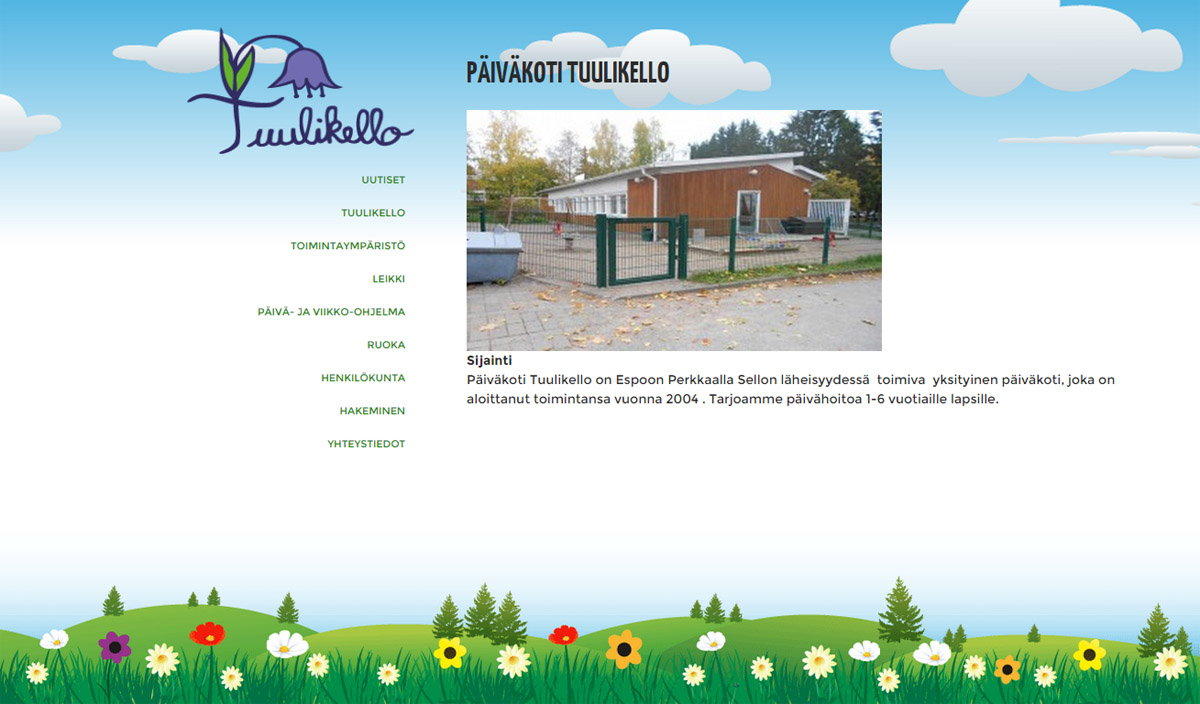 tuulikello-webpage